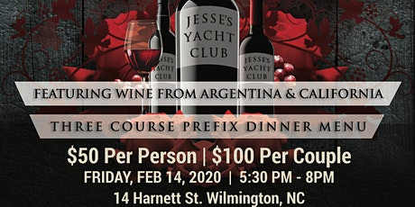 """""""JYC Wine From The Vine"""" (A Valentine's Day Edition) tickets"""