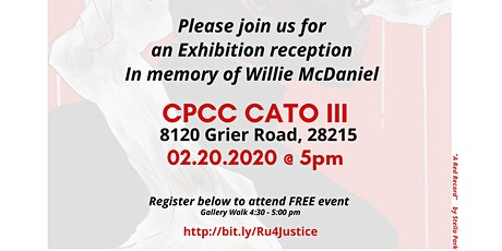Remember, Reflect, Reconcile & Reimagine (R4): In Memory of Willie McDaniel tickets