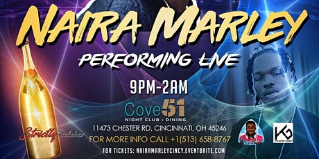 """Marlians Fest Cincinnati"" Naira Marley Performing Live tickets"