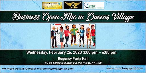 Business Open Mic in Queens Village