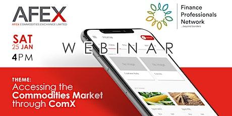 AFEX x Finance Professionals Network tickets