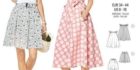 Atelier Couture  : Création d'une jupe à partir d'un patron tickets