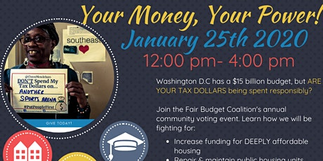 Your Money, Your Power: Community Voting Event tickets