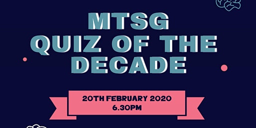 MTSG Quiz of the Decade