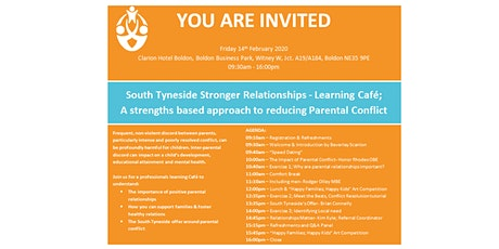 South Tyneside Stronger Relationships -Learning Café tickets