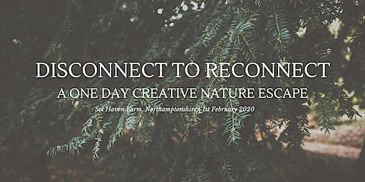 One Day Creative Nature Escape