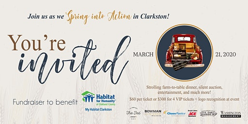 Spring into Action 2020 - My Habitat Clarkston fundraiser