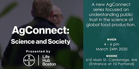 AgConnect: Science and Society - March Gathering tickets