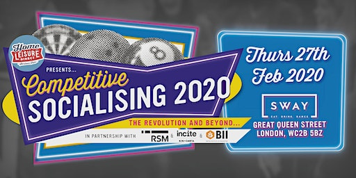 Competitive Socialising 2020 The Revolution and Beyond....
