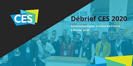 Débrief CES 2020 EuraTechnologies billets