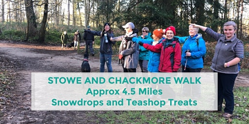 STOWE PARK AND CHACKMORE TEASHOP WALK | 4.5 MILES | MODERATE | BUCKS