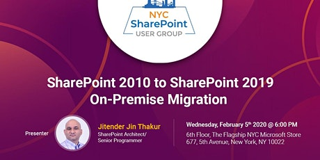 SharePoint 2010 to SharePoint 2019 On-Premise Migration tickets