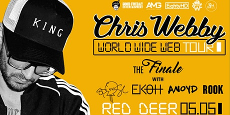 CHRIS WEBBY: WORLDWIDE WEB TOUR tickets