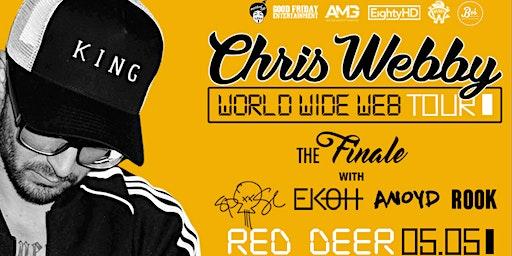 CHRIS WEBBY: WORLDWIDE WEB TOUR