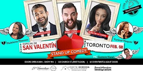 San Valentín - Stand Up Comedy - Comedia en Español tickets