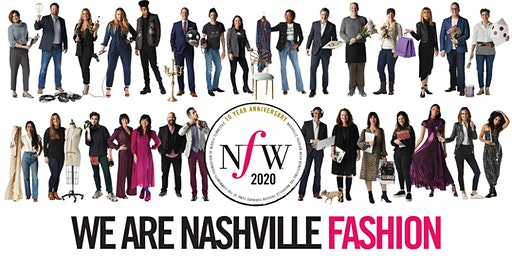 Nashville Fashion Week 2020: All Access Passes and Runway Passes
