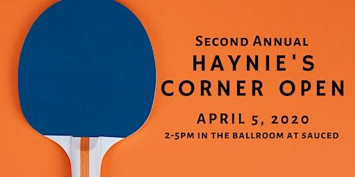 2nd Annual Haynie's Corner Open