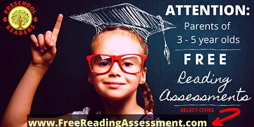 Reading Assessment Ages 3-5 @ Princeton Playspace