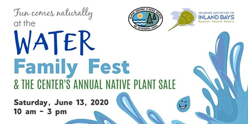 Water Family Fest & Native Plant Sale