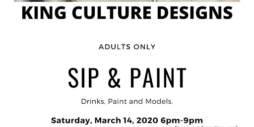 Adults only Sip & Paint