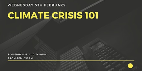 Climate Crisis 101 tickets