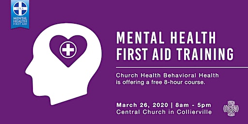 Mental Health First Aid Training at Central Church Collierville