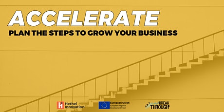 Accelerate - Plan the Steps to Grow your Business tickets