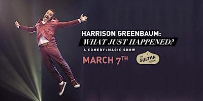 Harrison+Greenbaum%3A+What+Just+Happened%3F