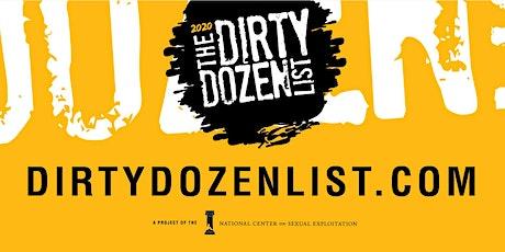 2020 Dirty Dozen List Reveal Event tickets