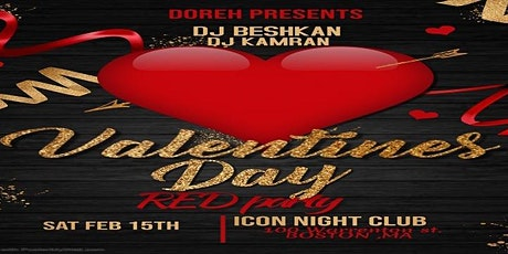 RED VALENTINE'S PARTY  tickets