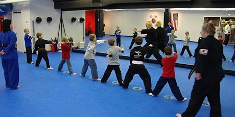 Free Introductory Little Ninja class for children 3-5 years old! tickets