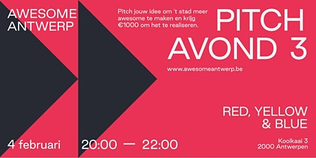 Awesome Pitch Avond #3 tickets