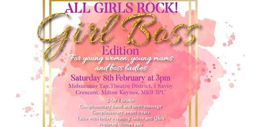 ALL GIRLS ROCK! Girl Boss Edition
