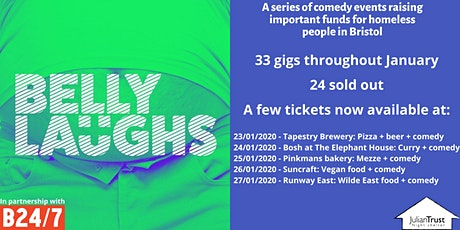 Belly Laughs with Bristol24/7  at Pinkmans Bakery tickets