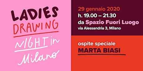 Ladies Drawing Night in Milano biglietti