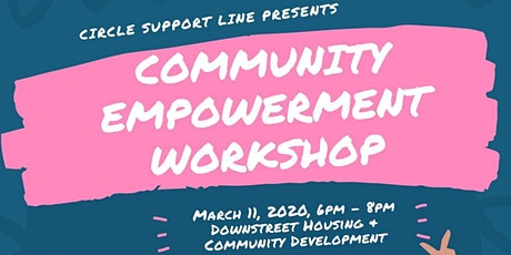 Community Empowerment Workshop tickets