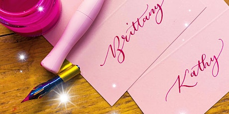 Valentines Themed Calligraphy Class - Beginners tickets