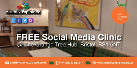 FREE Social Media Clinic - Bristol tickets