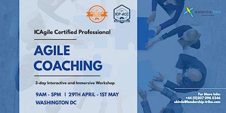 Agile Certified Coach (ICP-ACC) | Washington DC - April 2020 tickets