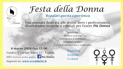 Festa della Donna - Workshop e Cocktail biglietti