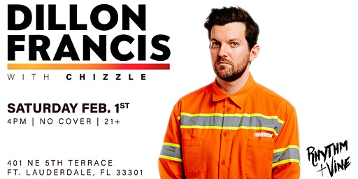 Dillon Francis At Rhythm + Vine