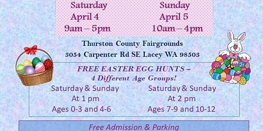 2020 2nd Annual EasterFest....Free Easter Egg Hunts