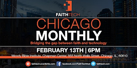 FaithTech Chicago February 2020 Meeting tickets