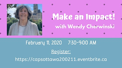 Make an Impact! with Wendy Cherwinski tickets