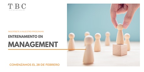 Entrenamiento en Management boletos