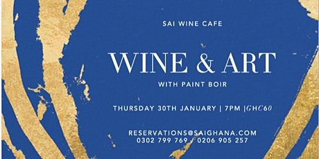 Wine & Art with Paint Boire tickets
