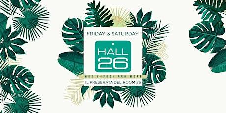 Hall26 Roma Venerdì 24 Gennaio 2020 - Music, Food and More biglietti