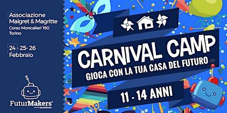 Carnival Camp (11-14 anni) biglietti