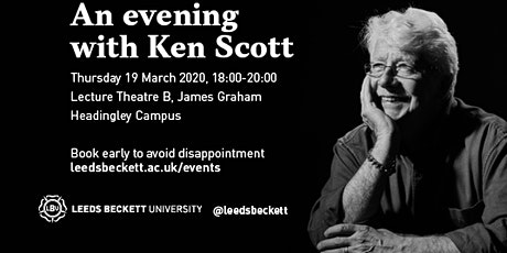 An evening with Ken Scott  tickets