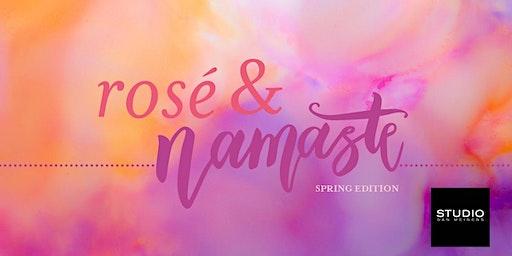 Rosé & Namaste: Spring Edition